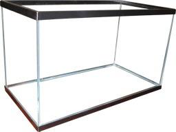 Pecera de vidrio 120 litros moderna y altamente estetica - Pecera de pared ...