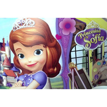 Cotillon Princesa Sofia Linea Oficial Disney Con Regalo