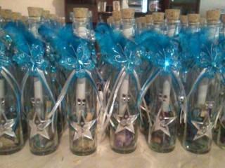 Invitaciones en botellas de cristal cualquier evento en mercado libre - Fabrica de floreros de vidrio ...