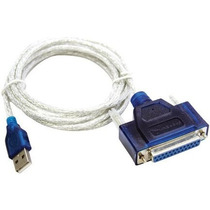 Cable Usb Macho A Paralelo Hembra Impresora Pc Laptop Ccc