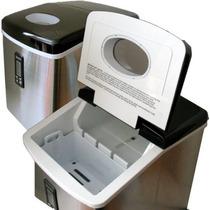 Fábrica De Hielo Portátil Smart+ Products Spp15aim De Acero