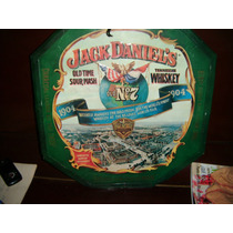 Jack Daniel´s Whisky - Chapa Emblematica Decorativa
