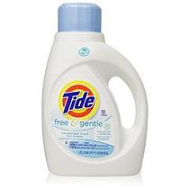 Tide Free Y Suave De Alta Eficiencia Líquido Detergente De L