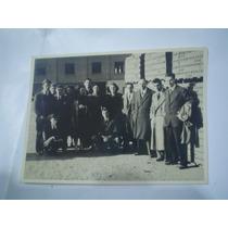 Fotografia 1951 Visita Fabrica De Ladrillos
