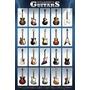 Guitarras Clasicas - Poster Importado De 90 X 60 Cm