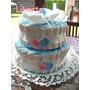 Torta De Pañales Para Bebés, Nacimiento, Baby Shower