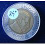 [sc] Uruguay 10 $ Variante Giro No Catalogada, Rara!