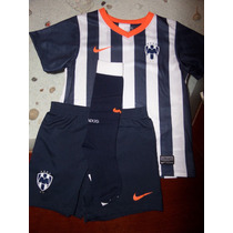 Kit Rayados Monterrey Local 2013-2014 Boys Nike Original