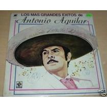 Antonio Aguilar Grandes Exitos Vinilo Argentino Promo