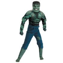 Disfraz Musculos Increible Hulk Original Marvel Avengers