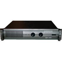 American Pro Apxii-800 Amplificador 410+410w 4ohms 250+250w