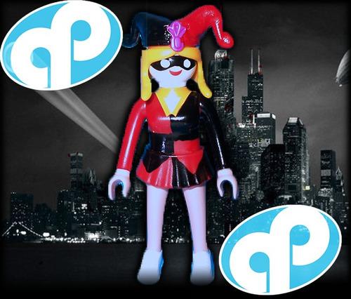 Playmobil custom harley quinn guason batman retromex - Batman playmobil ...