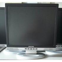 Monitor Lcd 17 Polegadas C/ Cabos Vga E Força Barato