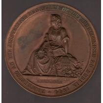 Medalla Ferrocarril A Berlin (alemania) 1844 Exc