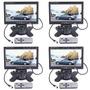 4pcs 7 Lcd Rearview Monitor Pantalla Tft Para Coche Dvd