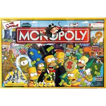 Juego De Mesa Monopoly Simpsons Original Hasbro Jiujim