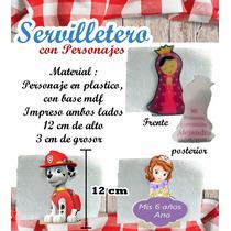 Servilletero Centro De Mesa Fiestas Infantiles, Eventos.