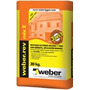 Revoque 3 En 1 Weber.rev Mix E X 30 Kg