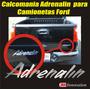 Calcomania Para Camionetas Ford Emblema Adrenalin