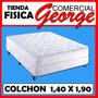 Colchon Ortopedico Paradise Matrimonial 1,40 X 1,90 Mts 10 A