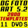 Dg Foto Art + 168 Galerias + 2900 Templates Dvd Frete Grátis