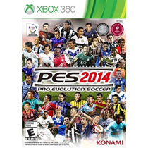 Pro Evolution Soccer(pes) 2014 Xbox 360 Mídia Física Lacrado