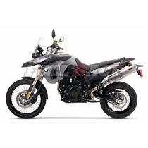 Escapamento Two Brothers M-2 Carbono Bmw F650gs F800gs
