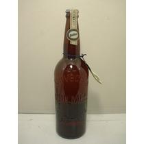 Botella Vidrio Llena Conmemorativa 115 Años Cerveza Quilmes