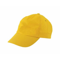 Gorra Amarillo Oro Polist Venta X Paq De 5 Unidades