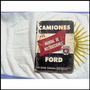 Antiguo Libro Manual Del Usuario: Pick-up/camion Ford 1954