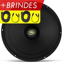 Alto Falante Woofer 12 Eros E-12lc Black - 400 Rms + Brindes