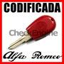 Llave Codificada Alfa Romeo Chip 145 146 155 164 Gtv Spider