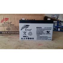 Bateria 6 Volts 7ah Power Wheels Montable Electrico Prinsel