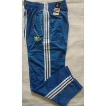 Pantalon Mono Deportivo Adidas Caballeros Tela Gruesa