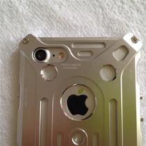 Estuche Iphone 7 Plus Cnc Aluminio Aerospacial Plata