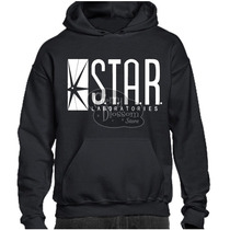 Gratis Envío Dhl ! Sudadera Star Labs The Flash Laboratories