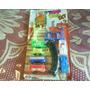 Set Miniatura Tren Y Autitos Plast.c/accesor-retro-hong Kong