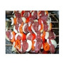 Brochettes De Pollo,carne,cerdo,verdura,panceta Mini Brochet