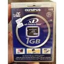 Cartão De Memória Olympus Xd Original Lacrado 1gb Frete 8,00