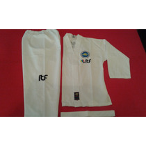 Dobok Traje Taekwondo Itf Oficial Talles 7-8-9