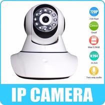 Cámara Hd Ip Wifi Motorizada Dvr Vigilancia Por Celular P2p