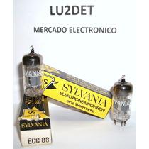 Valvulas Electronicas E88cc 6922 Ecc88 6dj8 Nos Nib Sylvania
