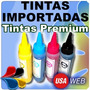 Pack 4 Tintas 100ml Para Impresora Canon Epson Brother Hp