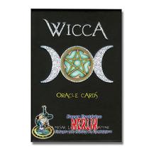 Oraculo Wicca - 33 Cartas Y Libro Manual En Español