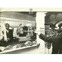 O Pappaleo 1971 Carniceria Ed Abril Foto Trabajo Comercio
