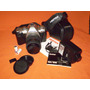 Camara Pentax Mz-m 35x80+flash Vivitar 16a