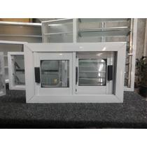 Ventana Aluminio Blanca (vidrio Entero) 60 X 40 ( Ventiluz)