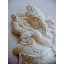 Pieza De Yeso: Ganesha Para Colgar.