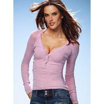Billabong Sweater Pink Importado Algodón Small Alice Sale
