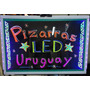 Pizarra Led Cartel Luminoso 60 X 40 Con Marcadores.<br><strong class='ch-price reputation-tooltip-price'>$ 1.490<sup>00</sup></strong>